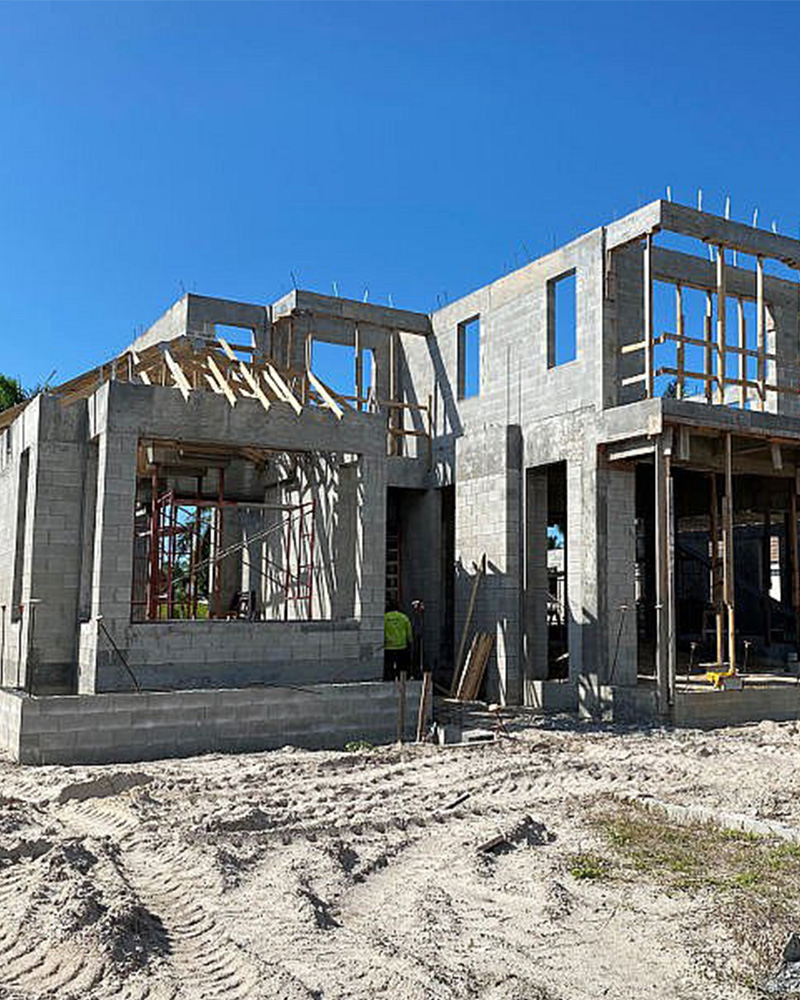 1345 Spyglass Lane Under Construction | Knauf-Koenig Group - Naples, Florida General Contractor