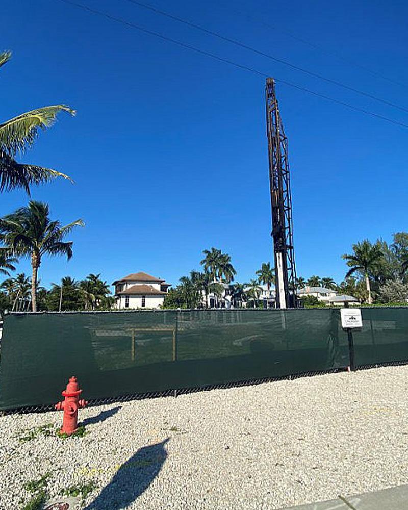 1755 Gulf Shore Blvd South Under Construction | Knauf-Koenig Group - Naples, Florida General Contractor