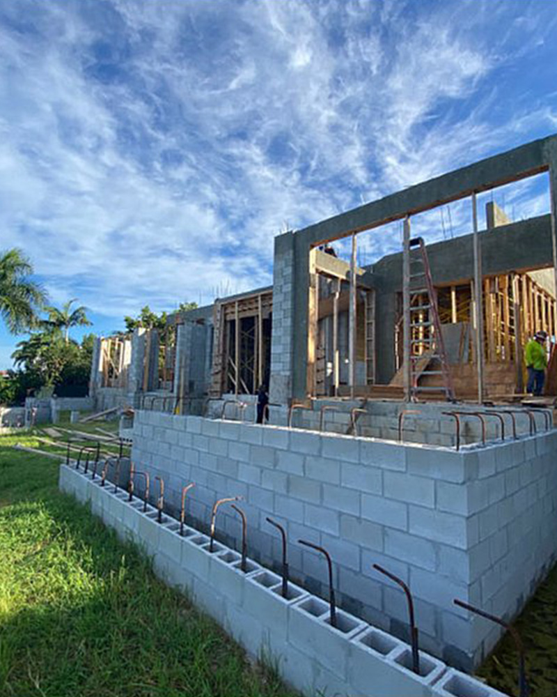 262 Mermaids Bight Under Construction | Knauf-Koenig Group - Naples, Florida General Contractor