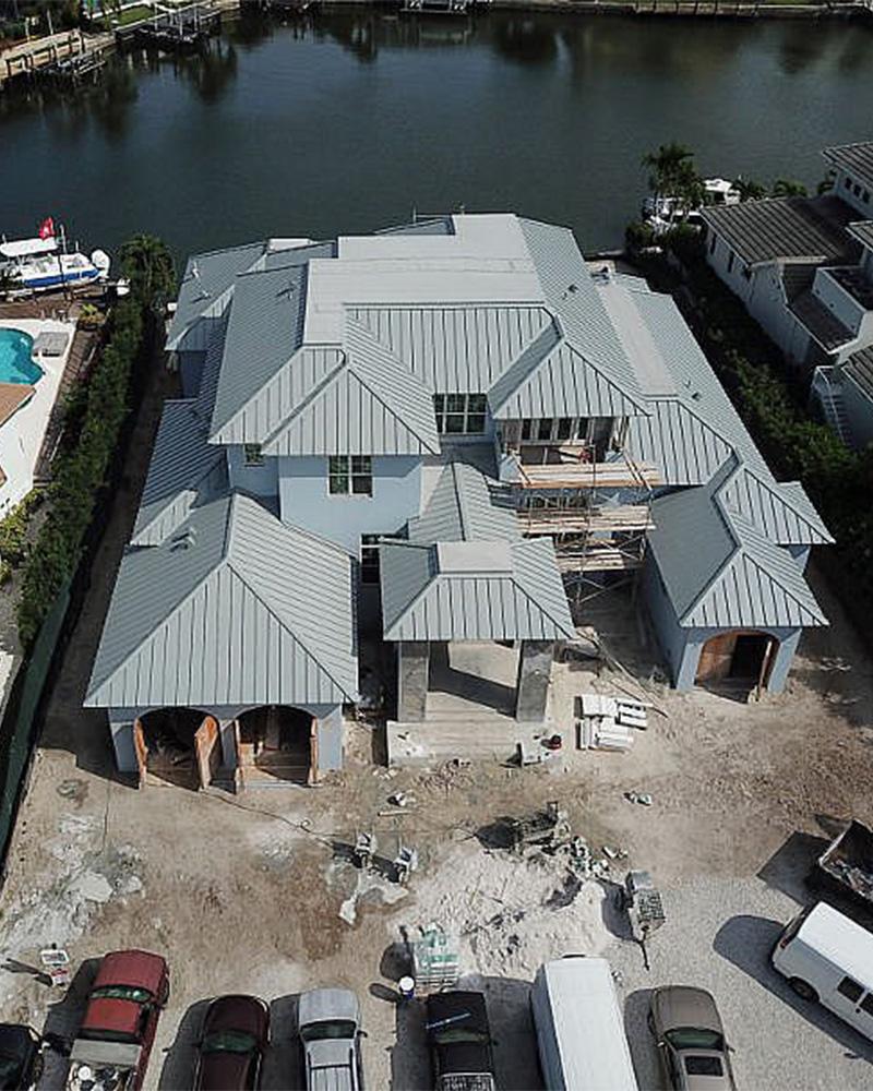 314 Devils Bight Under Construction | Knauf-Koenig Group - Naples, Florida General Contractor