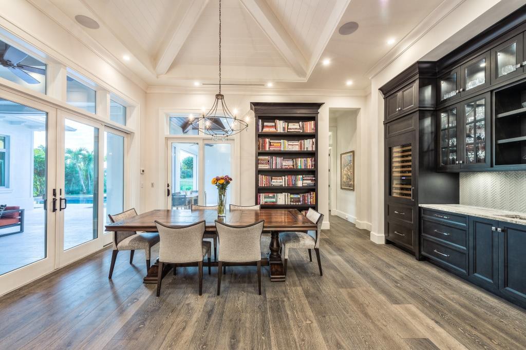 Haute Residence Dining Room | Knauf-Koenig Group - Naples, Florida General Contractor