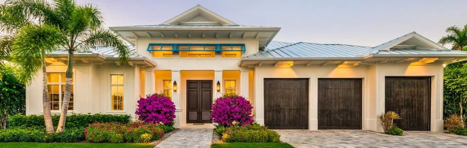 Haute Residence Front Elevation | Knauf-Koenig Group - Naples, Florida General Contractor