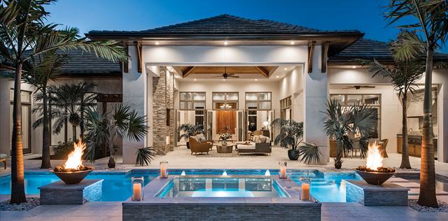 Luxury Home Builder Magazine - Pool | Knauf-Koenig Group - Naples, Florida General Contractor