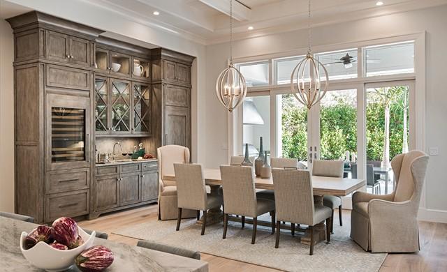 Dining Room | Knauf-Koenig Group - Naples, Florida General Contractor