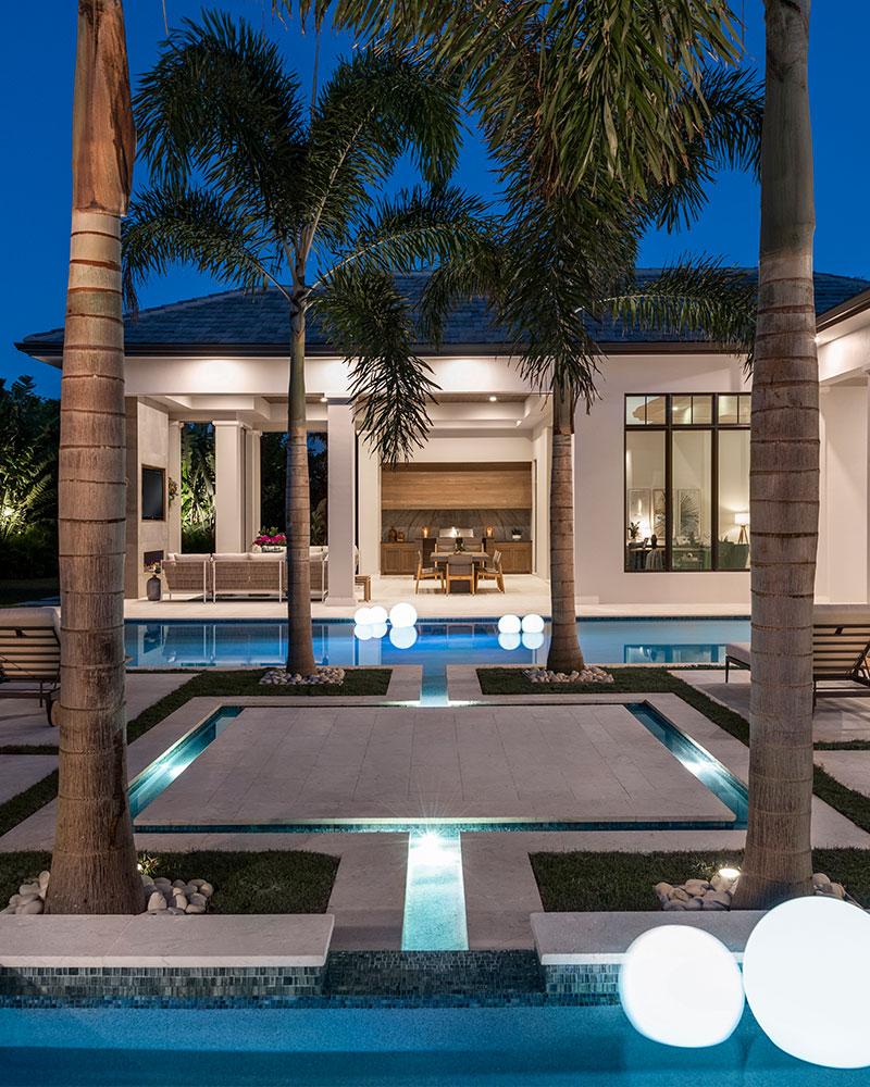 Pelican Bay Bentwood Drive | Knauf-Koenig Group - Naples, Florida General Contractor