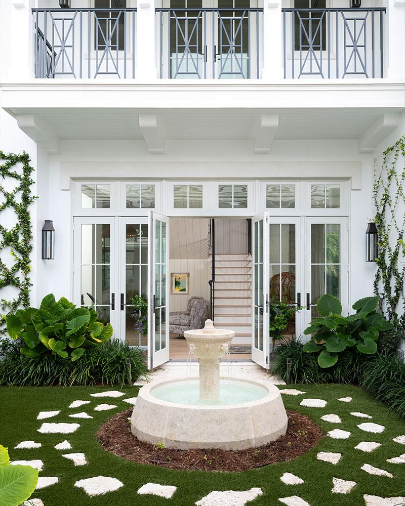 Backyard Fountain | Knauf-Koenig Group - Naples, Florida General Contractor