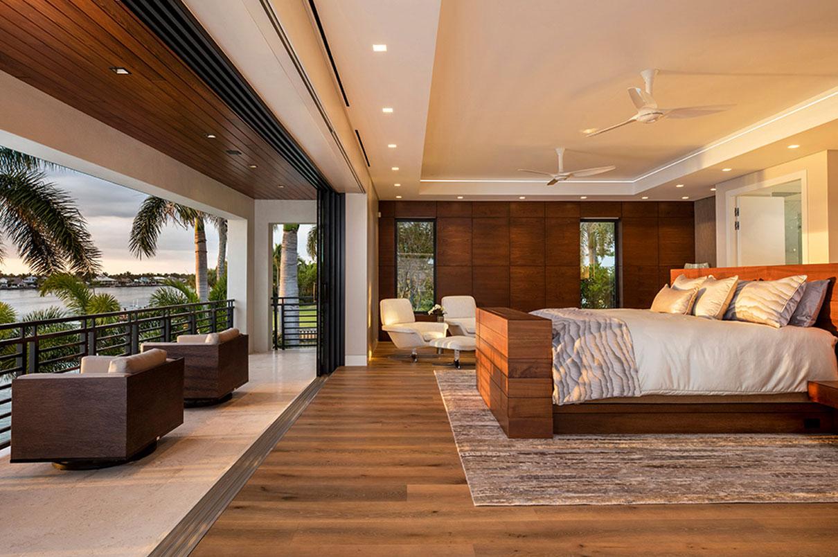 Naples, Florida Bedroom | Knauf-Koenig Group - Naples, Florida General Contractor