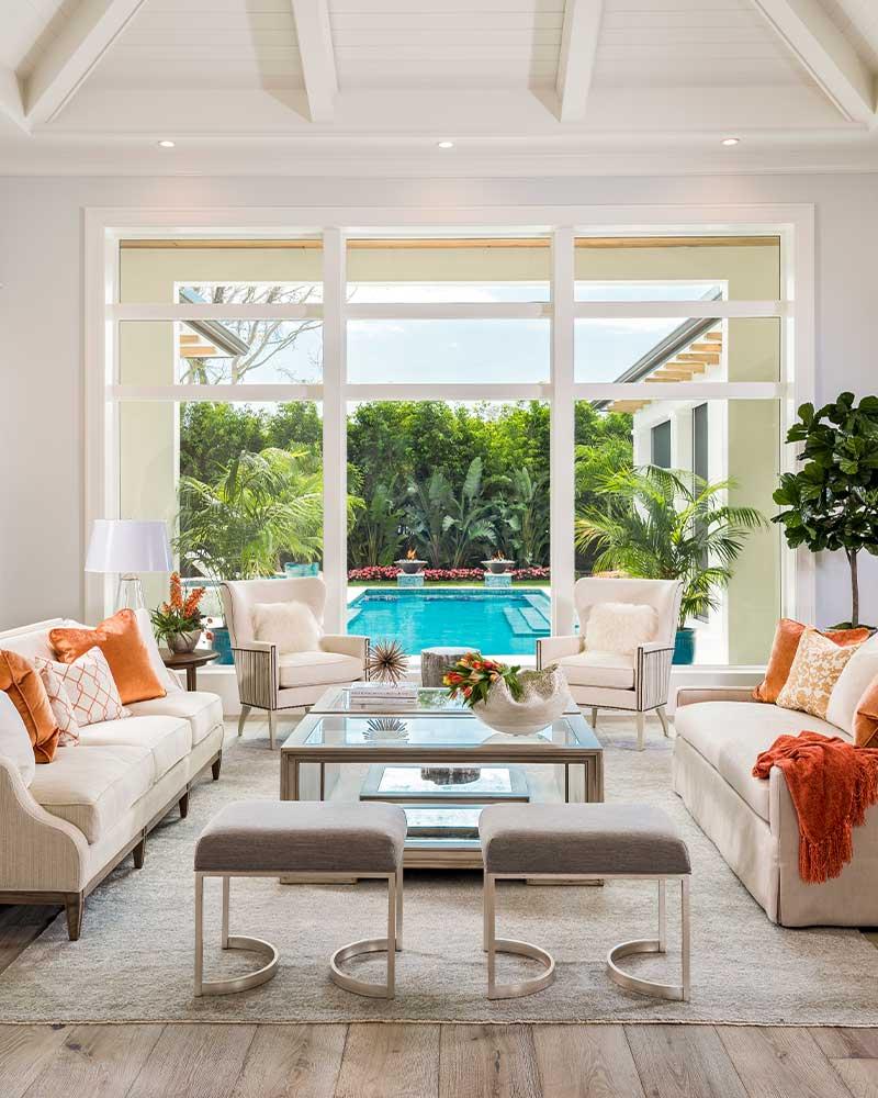 Living Room Construction | Knauf-Koenig Group - Naples, Florida General Contractor